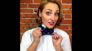 How to tie a Bow Tie: Easy Bow Tie Tutorial