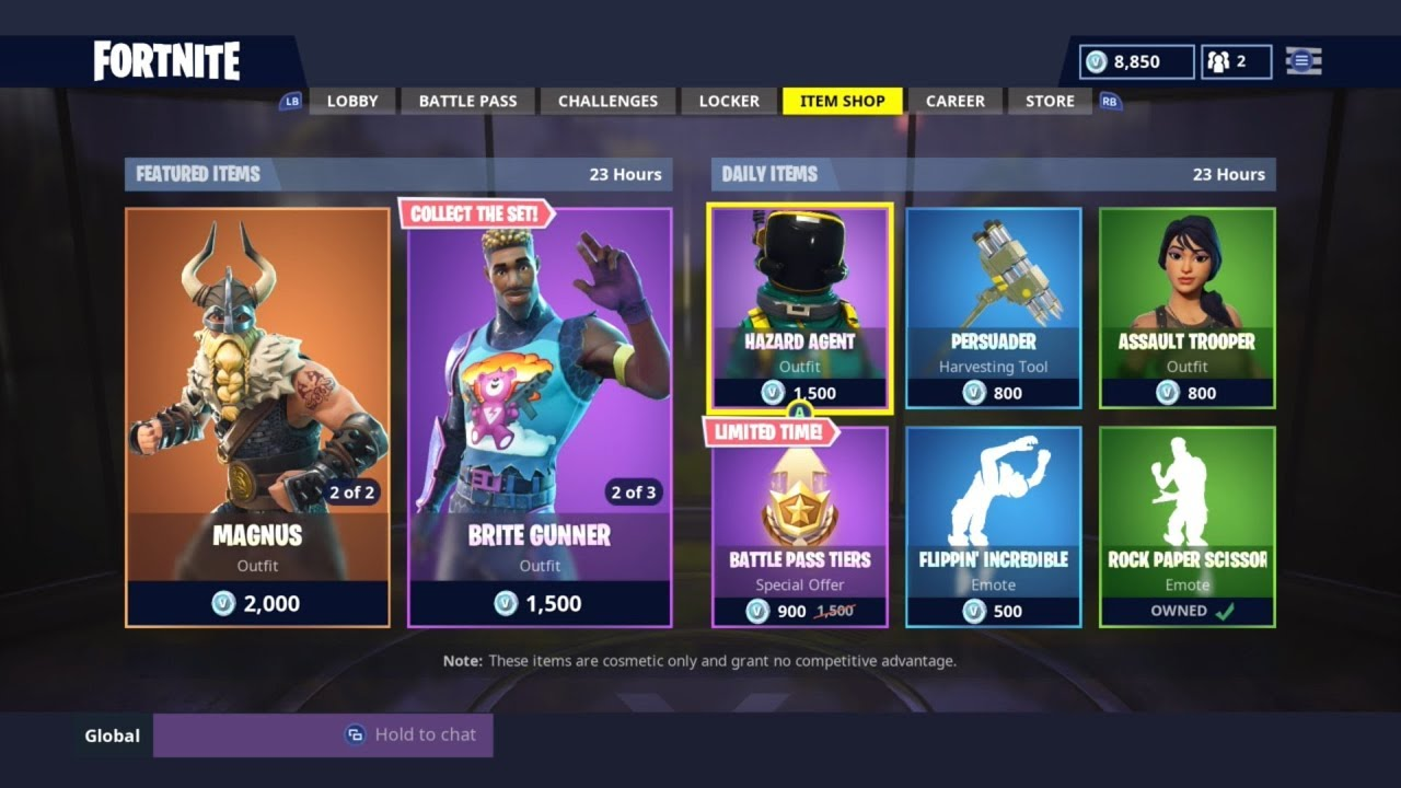 *NEW* DAILY ITEM SHOP TODAY! | SKIN RESET! | FORTNITE ...