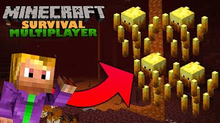 Minecraft Survival Multiplayer ⛏   Blaze Rods   1.17 Let's Play   EP10
