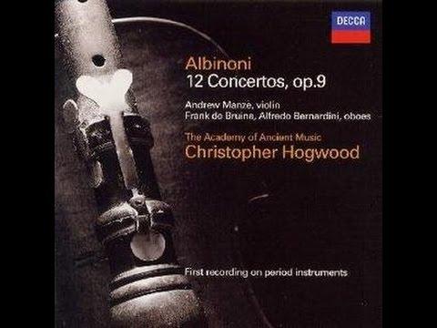 ♪アルビノーニ:ヴァイオリン協...