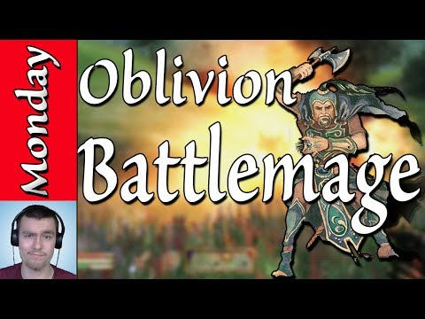 How to Make a Battlemage in Oblivion