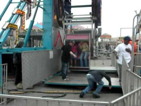 2010 Woodland Mall Carnival, Skerbeck, Chance Zipper, Grand Rapids Michigan