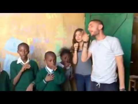 Safisha Africa students singing