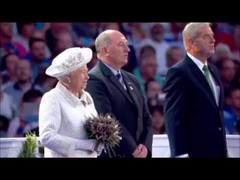 United Kingdom National Anthem (God Save the Queen) by Robert Lovie at the Commonwealth Games