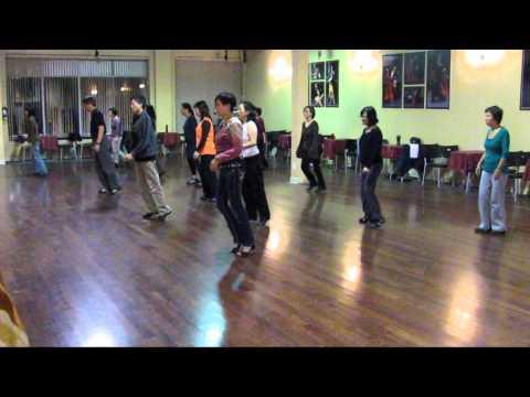 Adonde Voy - Line Dance (Demo & Walk through)