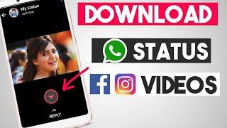 How to Download WhatsApp Status Video , Instagram Videos , etc | VidLike