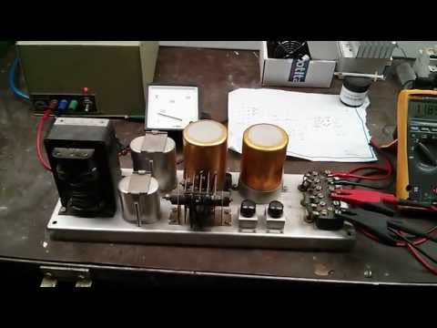1960's DC Power Supply Test Featuring a Model Solenoid Beam Engine