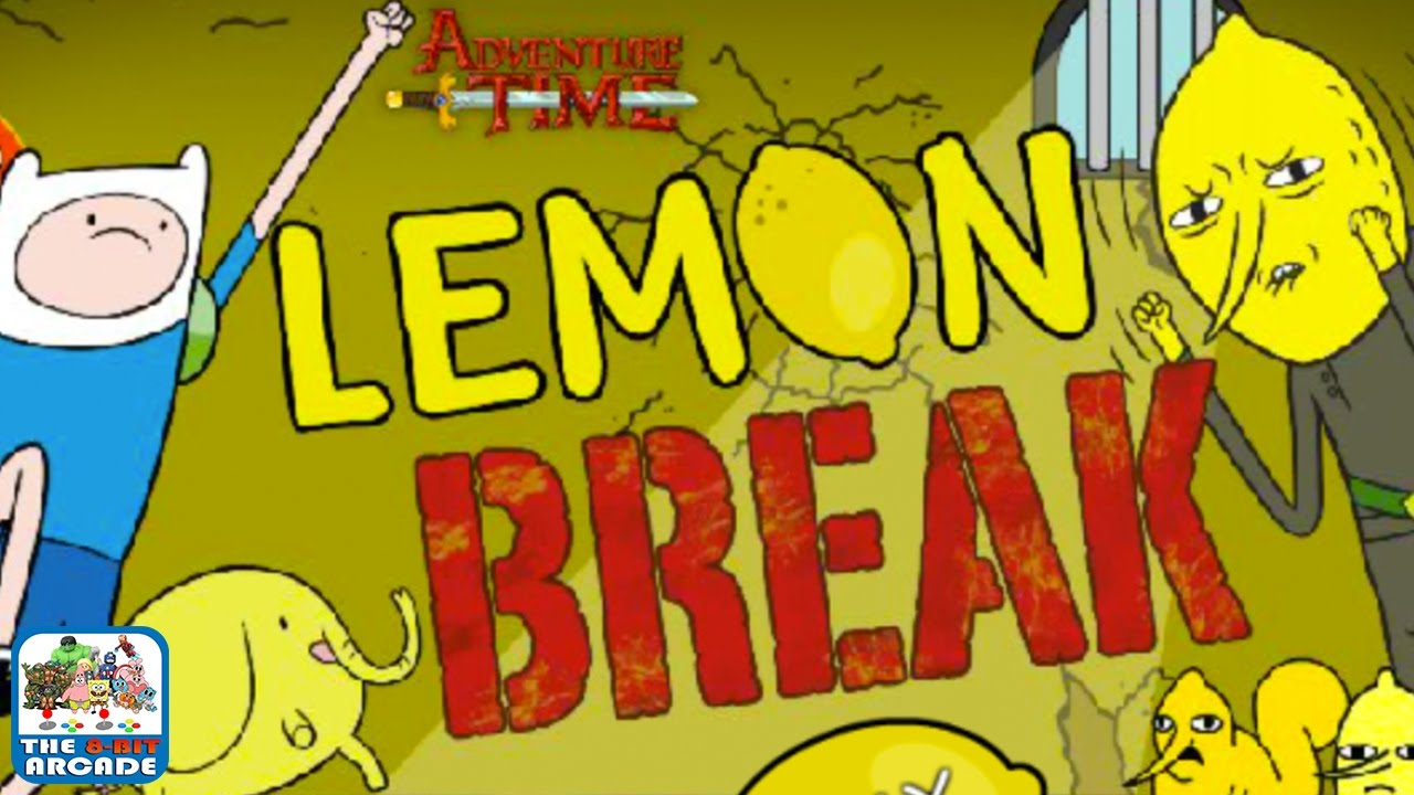 Adventure Time Lemon Break Bust Out The Lemongrab Prisoners