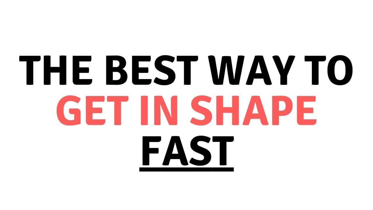 The Best Way to Get In Shape FAST [The Daily Strength, Ep. 1 ...