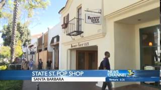 Rocket Fizz Opening in Santa Barbara on KEYT