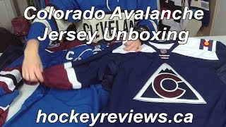 Colorado Avalanche Jersey Unboxing