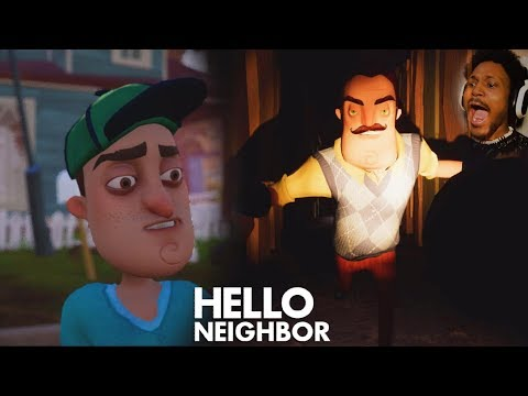 THIS STORY MODE IS INSANE | Hello Neighbor (Part 1) FULL GAME