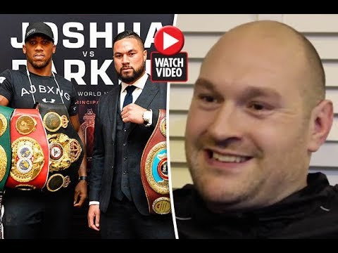 Tyson Fury admits he went on 'two-day bender' with Anthony Joshua's opponent Joseph Parker