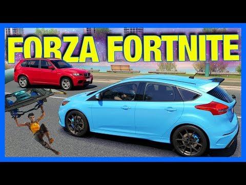 Forza Horizon 3 Online : FORZA FORTNITE!!