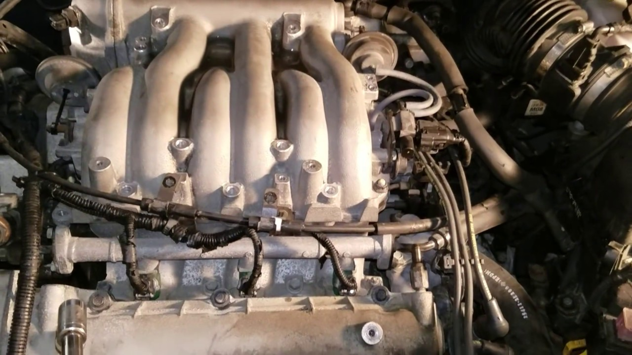 Diy Easy  Remove The Intake Manifold On A 05