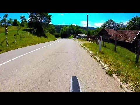 Bicycle Descending: Kneževo → Kanjon Ugra