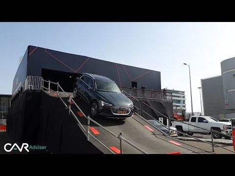 Audi E-Tron 2019: Essai & Presentation (bonus cascades les amis) ! V02 Par Car Adviser