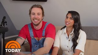 'Armchair Expert' Hosts Dax Shepard And Monica Padman Talk Their Favorite Guests | TODAY