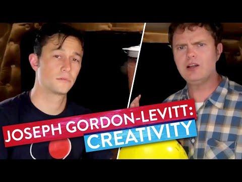 Joseph GordonLevitt & Rainn Wilson sweat it out!  Metaphysical Milkshake