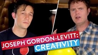 Joseph Gordon-Levitt & Rainn Wilson sweat it out! -  Metaphysical Milkshake
