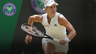 Belinda Bencic vs Angelique Kerber 4R Highlights | Wimbledon 2018