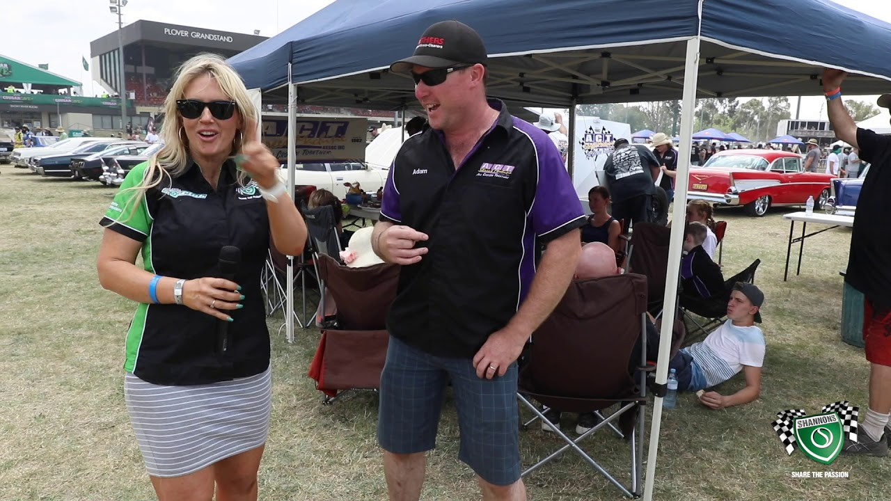 Summernats 32 - Sandra Horne chats with the ACT Street Machine Club - Shannons