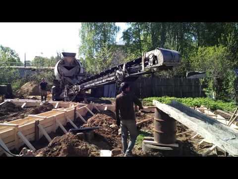 Принцип работы миксера с лентой. Малоэтажное строительство в Костроме