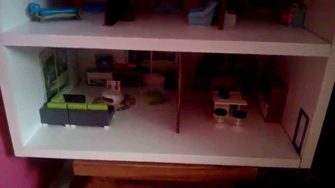 comment j 39 ai fait ma maison playmobil youtube. Black Bedroom Furniture Sets. Home Design Ideas