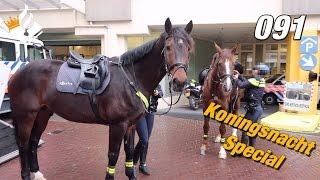 Police Kings Night Utrecht. Policevlogger JanWIllem.