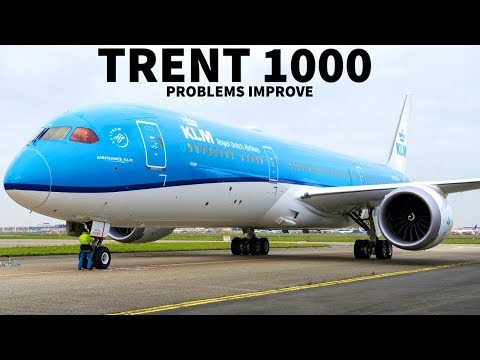 Trent 1000 Problems on Boeing 787 (Update)