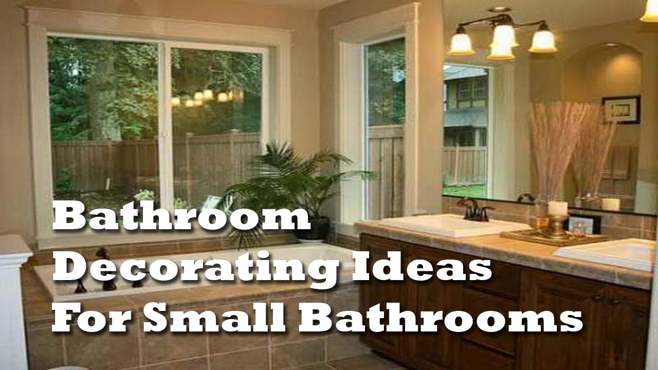 Bathroom Decorating Ideas Pictures For Small Bathrooms Captivating Bathroom Decorating Ideas For Small Bathrooms  Creative Bathroom . Review