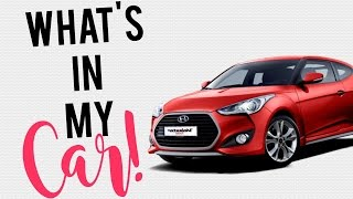 what s in my car car tour   hyundai veloster turbo