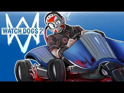 Thumbnail: Watch Dogs 2 - FUNNY MOMENTS, GO-KARTS, EASTER EGGS AND SEALS! (With Ohmwrecker!)