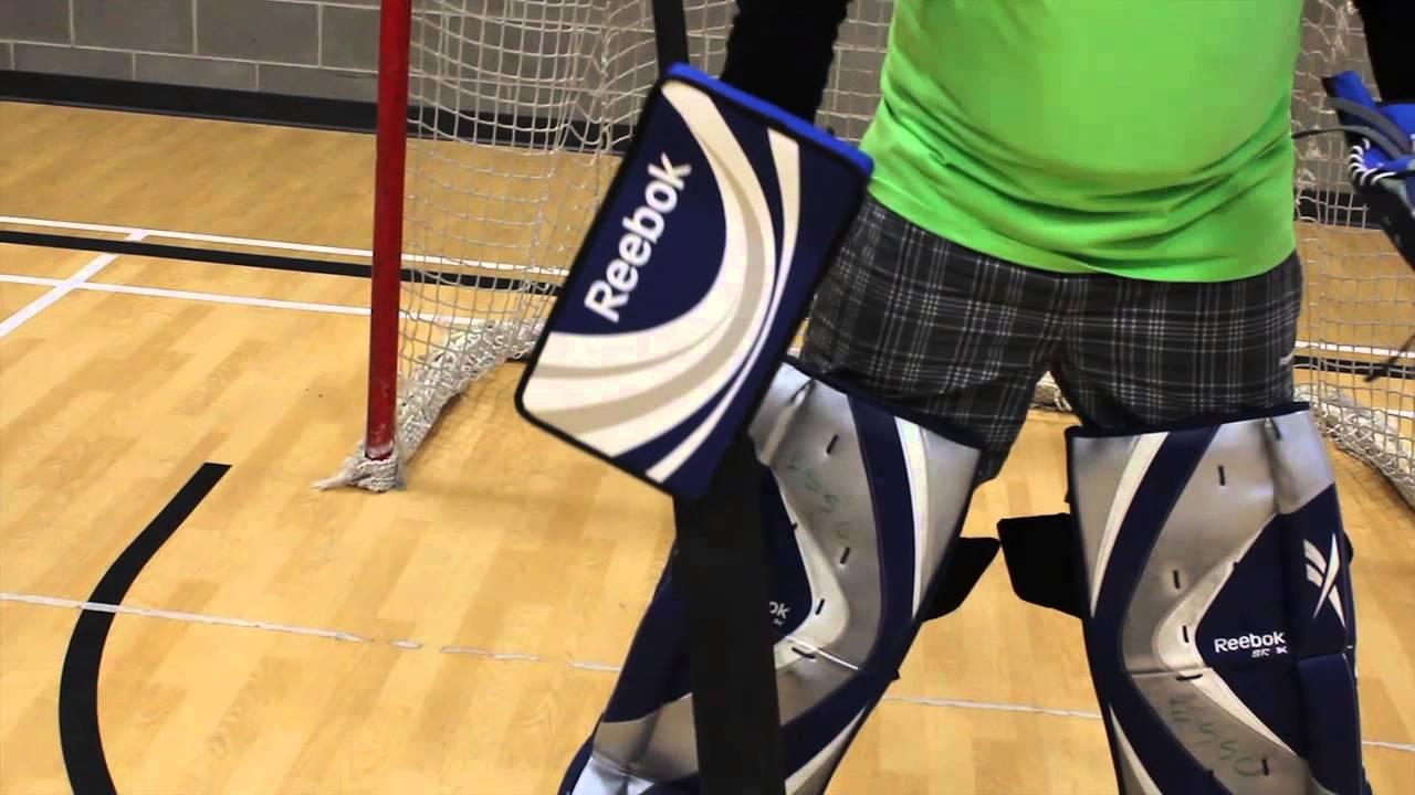 Floor Hockey Rules  Goalie Equipment  YouTube
