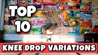 Breaking Tutorial  Top 10 Knee DropPin Drop Variations  How To Breakdance Basic  Advanced Drops