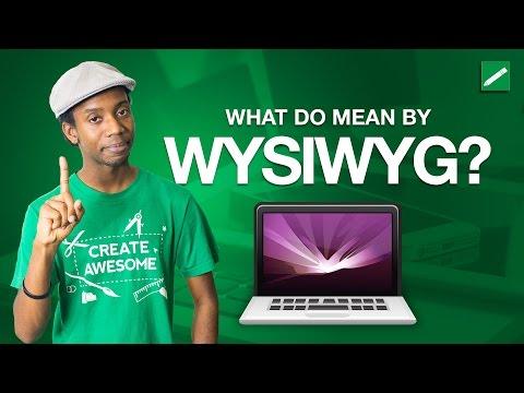 WYSIWYG Web Design Explained in 5 Minutes