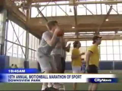 CityNews + PK Subban at motionball's Marathon of Sport Toronto