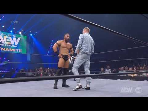 Orange Cassidy Vs PAC AEW Dynamite