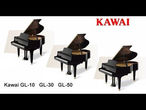 Comparison between Kawai GL10, GL30 & GL50 Grand Piano @ The Piano Shop Bath