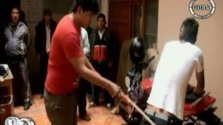 Cajamarca: Ronderos castigan a jóvenes ladrones con azotes