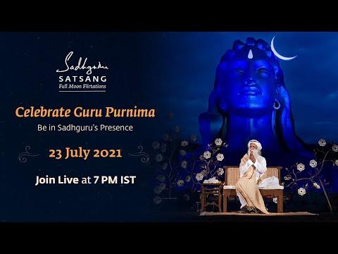 Celebrate Guru Purnima | Be in Sadhguru's Presence | 23 July 2021 | Join Live At 7 PM IST