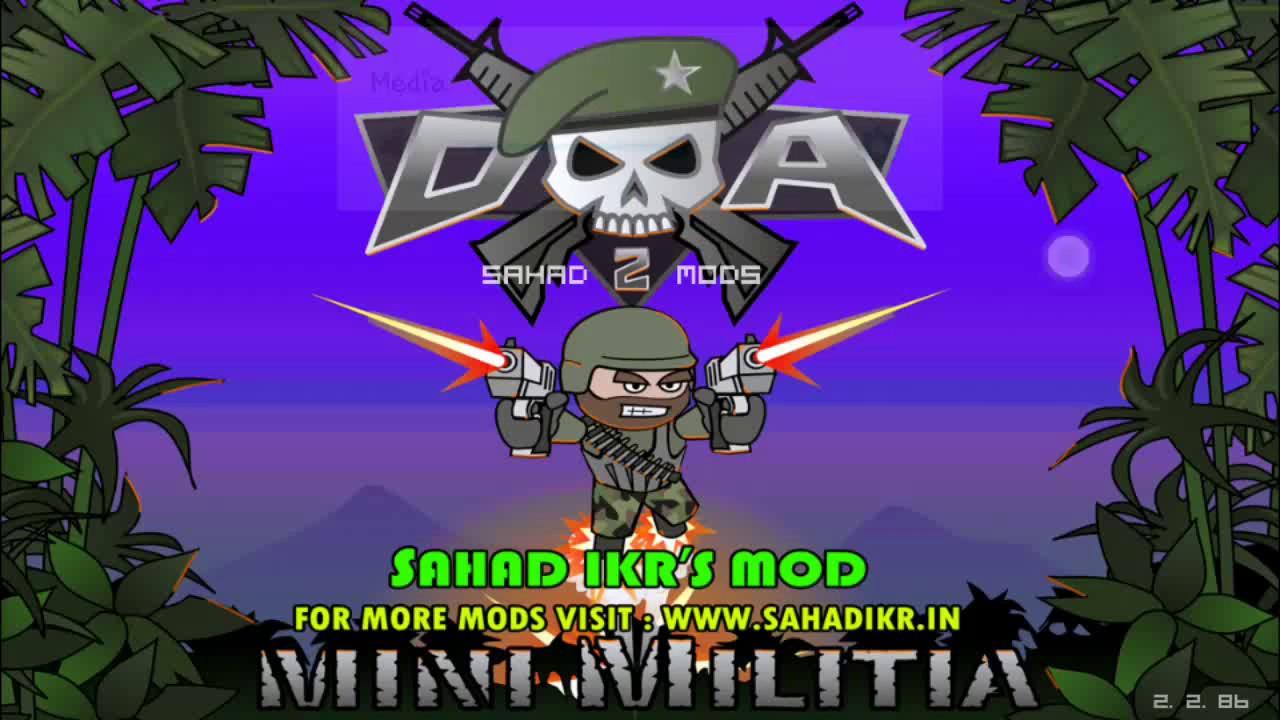 mini militia mod shd