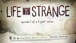 "LIfe Is Strange Walkthrough - ""Episode 1: Chrysalis"" FULL Episode"