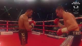 Валерий Третьяков - Арнольд Хегай | Referee cam | Мир бокса