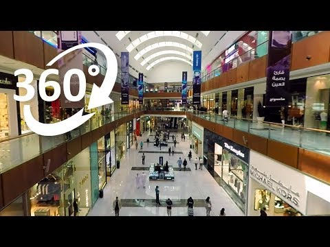 (4K) 360: Dubai Mall Shopping Experience in 360°