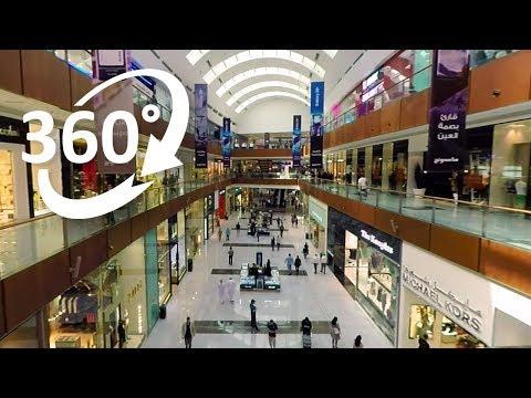 (4K) 360: Dubai Mall Shopping Experience in 360°