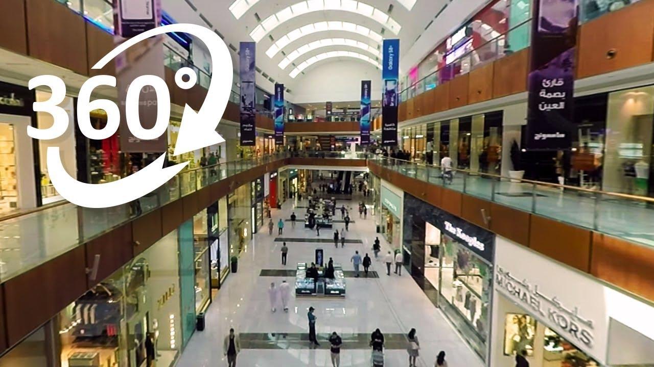 8dc89f7595e7 4K) 360  Dubai Mall Shopping Experience in 360° - YouTube