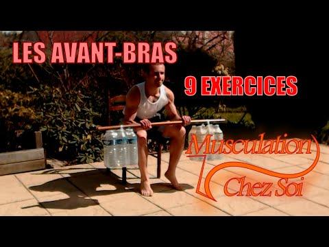 9 exercices pour muscler ses avant-bras chez soi - YouTube