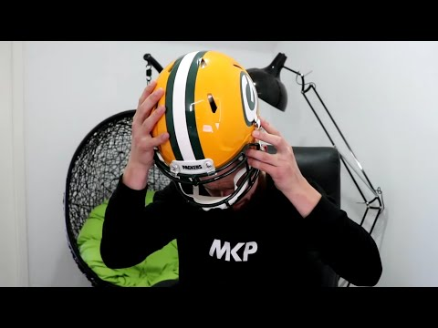 Rugby Player Receives First AMERICAN FOOTBALL HELMET From A Subscriber!