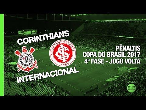Pênaltis - Corinthians x Internacional - Copa do Brasil - 19/04/2017